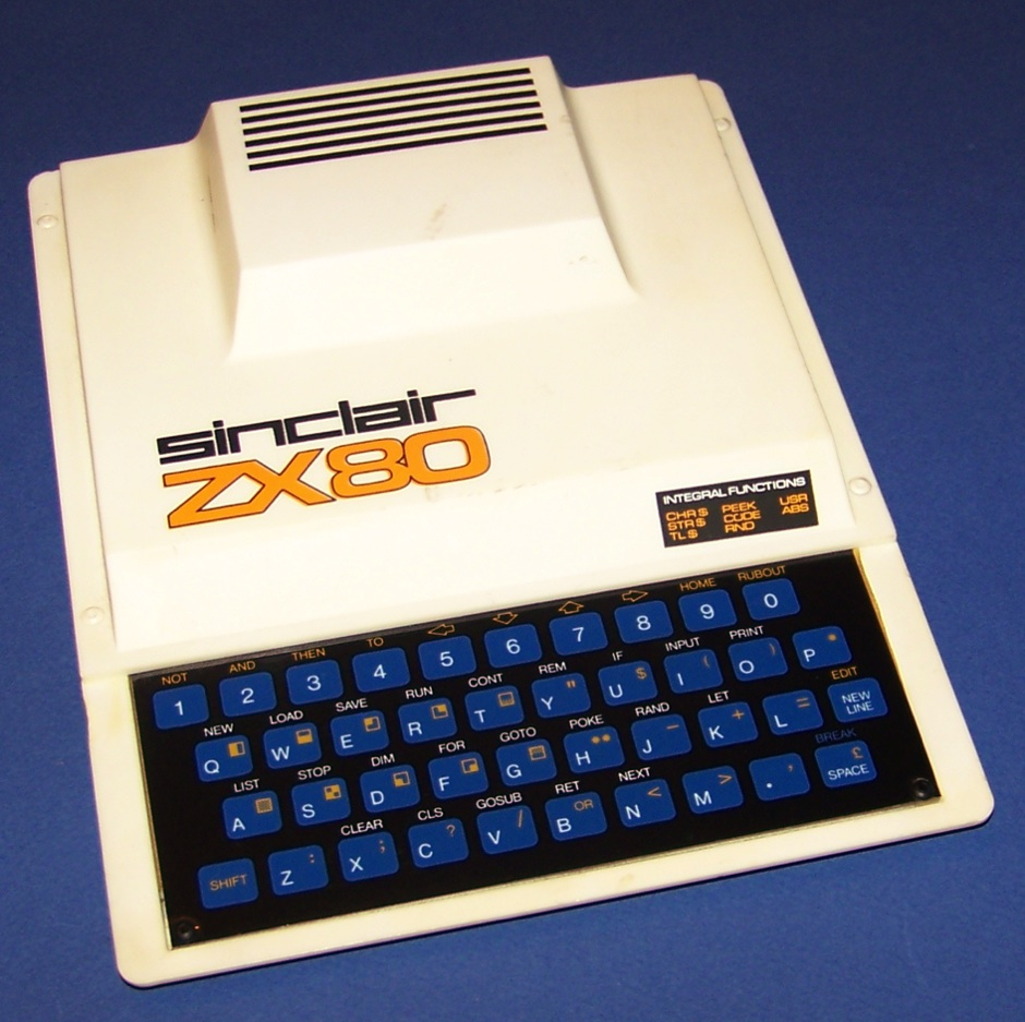 SINCLAIR ZX 80 A3 PICTURE ART POSTER PRINT GZ783